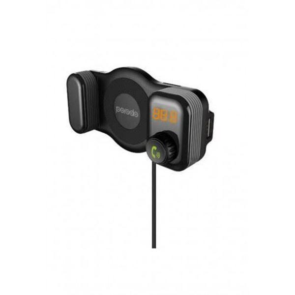تصویر پایه نگهدارنده پرودو-شارژ فندکی و فرستنده FM