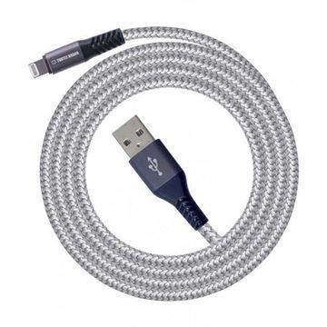 تصویر کابل  ترتل برند USB -لایتنینگ- با روکش نایلونی بافته شده-1.2 متر