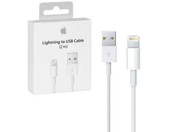 تصویر کابل اپل تبدیل لایتنینگ به USB مدل A1510 - اوریجینال-متر 2