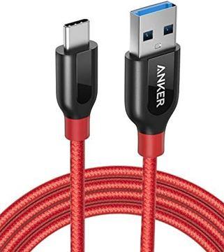تصویر کابل انکر تبدیل   USB-Cبه  USB-C 3- متر 1.8 - A8169H91