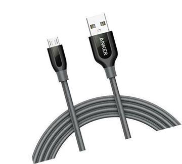 تصویر کابل انکر تبدیل  USB   به micro USB- متر 1--A8142HA1