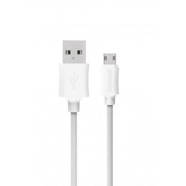 تصویر کابل پرودو USB  مایکرو- سفید