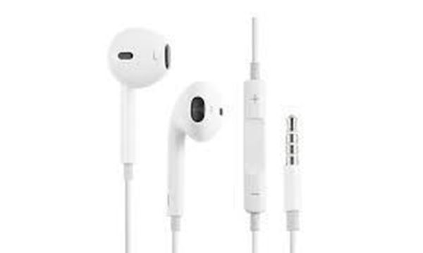 تصویر هندزفری اورجینال اپل EarPods مدل A1472