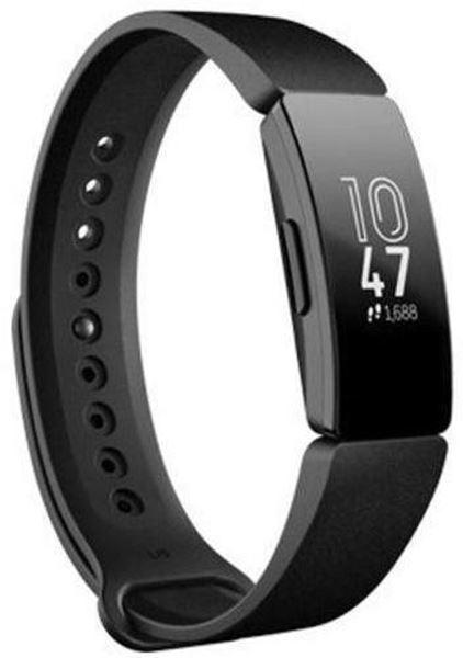 تصویر مچ بند هوشمند فیت بیتHR - مشکی Fitbit Inspire HR Fitness Wristband with Heart Rate Tracker -Black/Black
