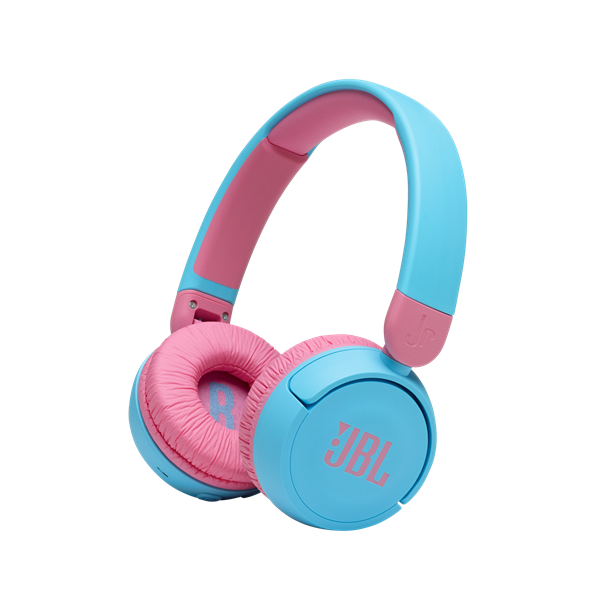 تصویر هدفون بلوتوثی جی بی ال مخصوص کودکان- آبی JBL JR31OBT Kids Wireless On-Ear Headphones - Blue