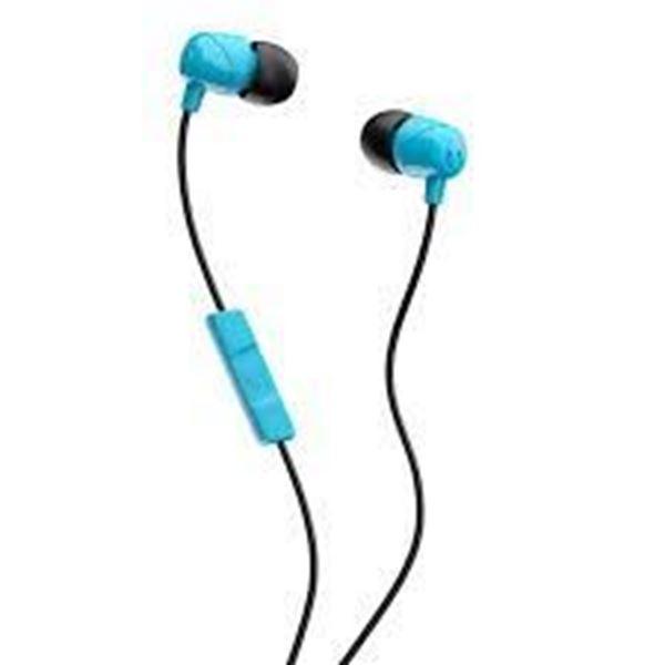 تصویر هندزفری با سیم Jib  اسکال کندی- آبی /مشکی Skullcandy Jib In-Ear Headphones with Mic - Black/Blue