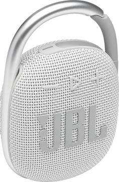 تصویر اسپیکر بلوتوث همراه جی بی ال کلیپ 4-سفید-JBL Clip 4 Portable Wireless Speaker - White