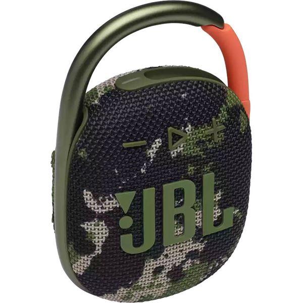 تصویر اسپیکر بلوتوث همراه جی بی ال کلیپ 4-اسکوید--اورجینالJBL Clip 4 Portable Wireless Speaker - Squad