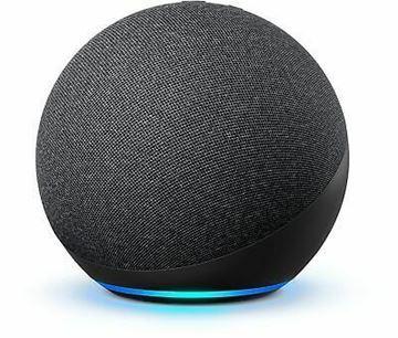 تصویر اسپیکر هوشمند آمازون نسل 4-زغالی- Amazon Echo Dot (4th Gen)Smart speaker with Alexa-Charcoal