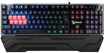 تصویر کیبورد گیمینگ بلودی Bloody B3370R 8-Light Strike RGB Mechanical Gaming Keyboard US - Brown Switch