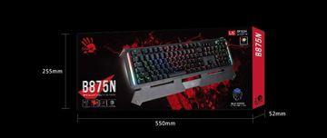 تصویر کیبورد گیمینگ بلودی Bloody B875N Full LK Gaming Keyboard - Black