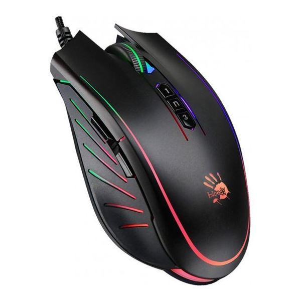 تصویر کیبورد گیمینگ بلودی Bloody P81s RGB Animation Gaming Mouse with 8000CPI