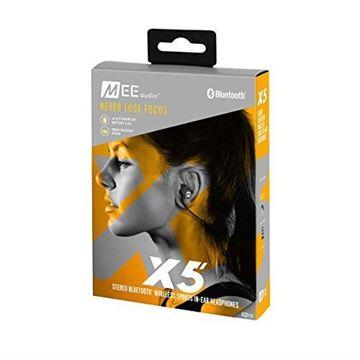 تصویر هندزفری بلوتوث می آدیو X5 نسل دوم-مفرغی-               MEE Audio X5 Stereo Bluetooth 2nd Generation Wireless Sports In-Ear Headphones - Gunmetal