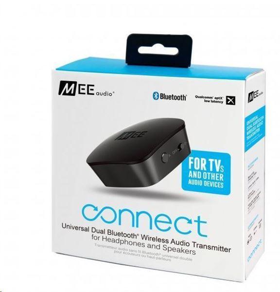 تصویر فرستنده صدای بلوتوث می آدیو کانکت- MEE Audio Connect Universal Bluetooth Wireless Audio Transmitter - Black