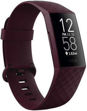 تصویر مچ بند هوشمند فیت بیت شارژ 4 مجهز به جی پی اس- Fitbit Charge 4 Fitness Wristband with GPS( NFC ) - Rosewood/Rosewood